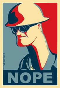 """""""Team Fortress 2 - Engineer Nope"""" Art Prints by ..."""