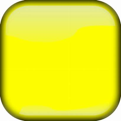Square Yellow Button Clker Clip Clipart Squares