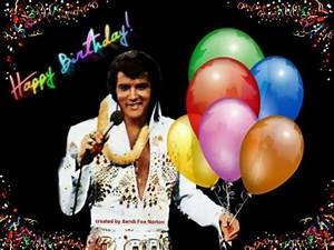 Elvis Birthday Cards for Facebook | Birthday Cards | art ...