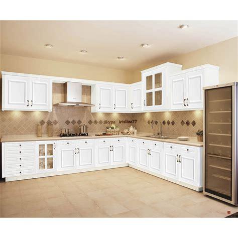 meubles de cuisine blanc blanc armoires de cuisine en bois massif meubles armoire