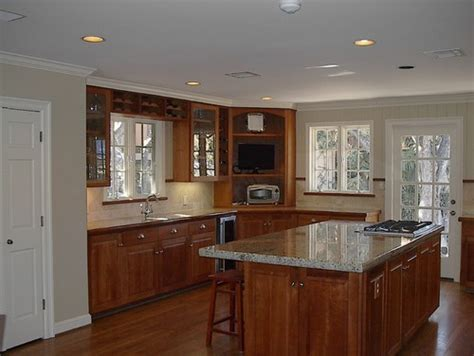 what are colors for kitchens grey kitchen walls with brown cabinets www pixshark 9610