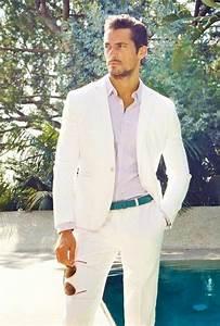 Style Classe Homme : le costume blanc tendance pure chic mode masculine ~ Melissatoandfro.com Idées de Décoration
