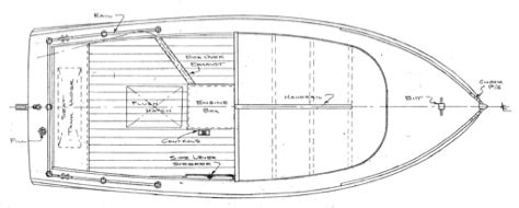 Wooden Utility Boat Plans by 20 Spalding Utility Launch Woodenboat Magazine