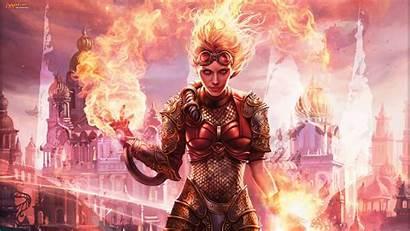 Magic Gathering Fire Arena 1080p Chandra Defiance