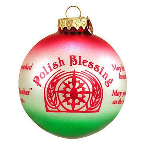 polish christmas ornaments sale blessing ornament blessings prayers ornaments