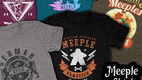 We did not find results for: Meeple Shirts - Cool Shirts for people that play board games by Justin Farr — Kickstarter