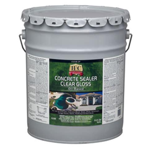 shop h c 5 gallon clear concrete stain sealer at lowes