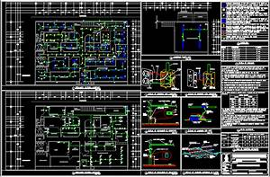 Electric Project For Offices In Autocad