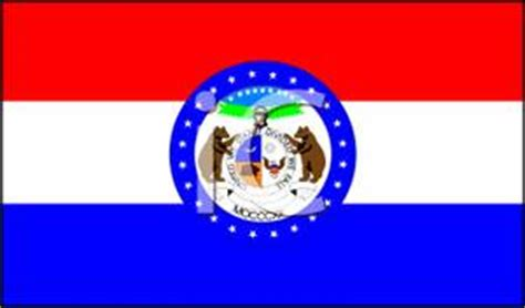 Cost Of Missouri Boating License by Missouri State Flag Royalty Free Clipart Picture