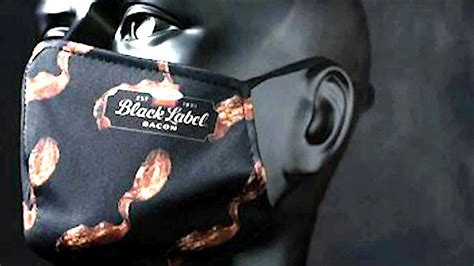 Hormel Foods giving away bacon face masks for a good cause