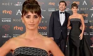 Penelope Cruz joins husband Javier Bardem for Goya Cinema ...