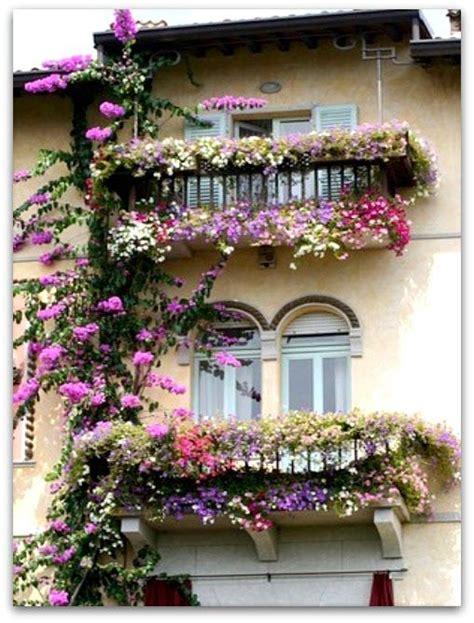 Fioriere Per Davanzale Finestra by Finestre E Balconi Fioriti Balconies Windows