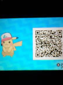 Sun and Moon Pokemon Pikachu QR Code