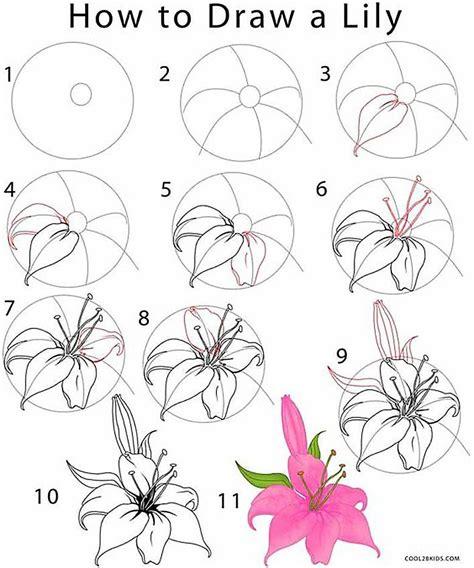 draw flowers  turn  drawings