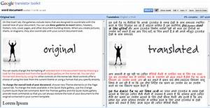 translate word documents text files online with google With google word document translate