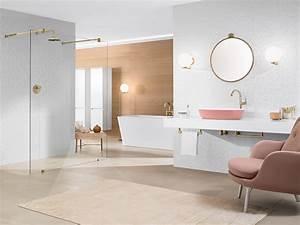 Accessoire Salle De Bain Cuivre : une salle de bain chic et girly joli place ~ Melissatoandfro.com Idées de Décoration