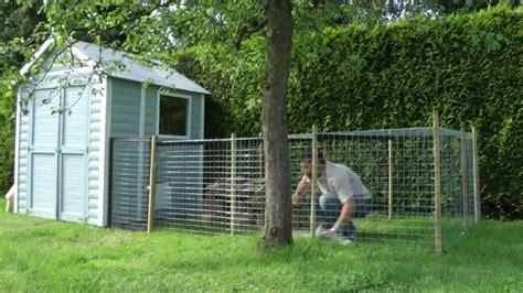 kaninchen auslauf selber bauen kaninchenstall mit auslauf teil 1