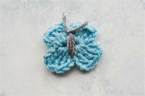 quick  easy crochet butterfly favecraftscom