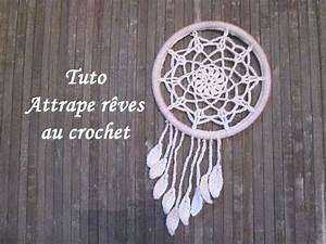 Ou Acheter Un Attrape Reve : tuto attrape r ves au crochet facile r aliser un reste de laine ou de coton un cercle en bois ~ Teatrodelosmanantiales.com Idées de Décoration