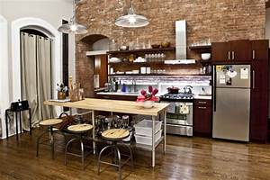 nyc loft contemporary kitchen new york by design42 With new york loft kitchen design