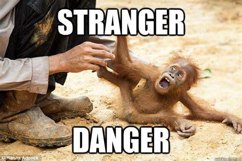 Stranger Danger Meme - stranger danger baby rafiki quickmeme