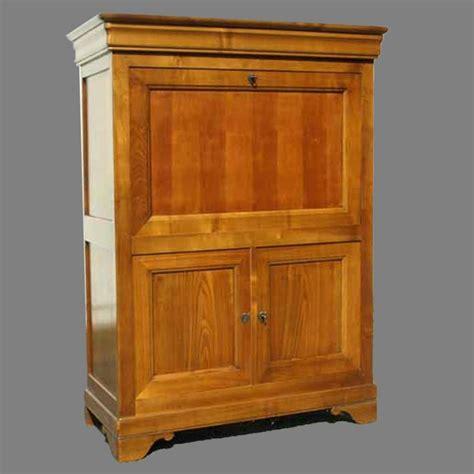 fauteuil de bureau louis philippe secrétaire droit louis philippe merisier meubles de