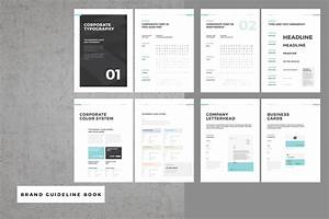 Brand Guideline Book On Behance