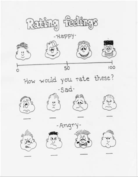 13 Best Images Of Recognizing Your Emotions Worksheet  Emotions Worksheet Dbt, Recognizing