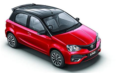 toyota motors india toyota etios liva with new dual tone design launched in