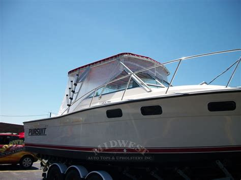 Boat Canvas And Windows by Midwest Auto Tops Upholstery T Top