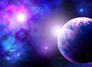 planet and nebula by vissroid on DeviantArt
