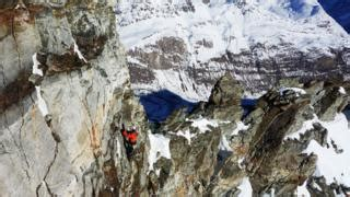 Climate Change Making Mountaineering Riskier Bbc News