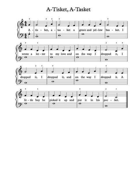 Taking your first piano lesson is an exciting and important milestone in the life of many children. 40 best beginner piano sheet music images on Pinterest | Music, Frances o'connor and Printable