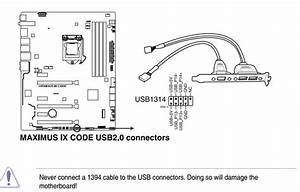 Corsair Link Cable Connection On Asus Motherboard