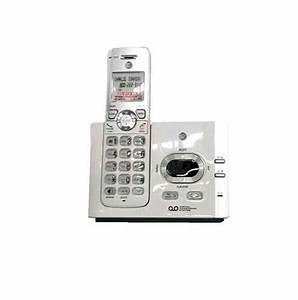 At U0026t 1 Handset Cordless Answering System W  Caller Id  Call