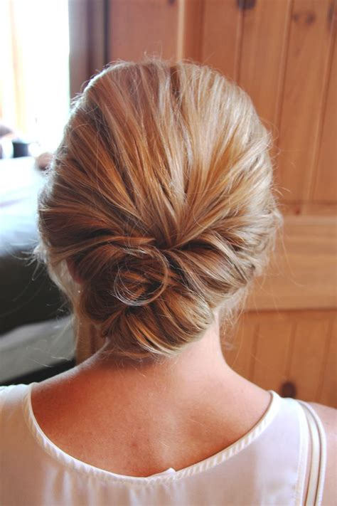 Low Updo Hairstyles by Bun Hairstyles Fade Haircut