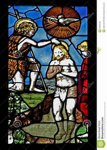 The baptism of Jesus stock image. Image of cathedral ...