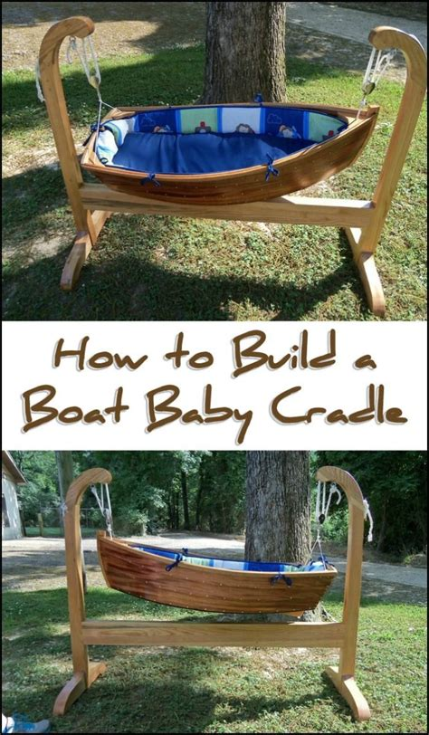 baby boat cradle baby crib diy baby diy projects diy crib