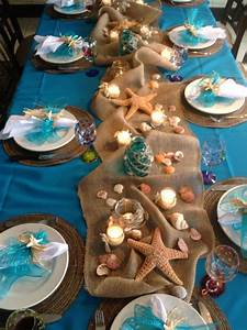 easy arrangement centerpieces beach wedding ideas of With beach wedding table decorations