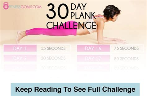 30 Day Plank Challenge - See the Best Planking Workouts