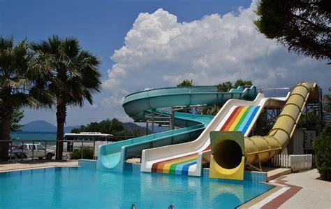 Water Slide, Slide, Swimming Pool