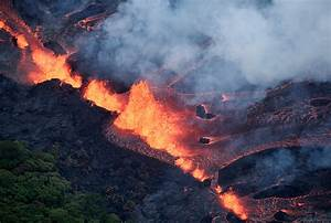 Volcano kilauea update: One man injured by lava in Hawaii ...