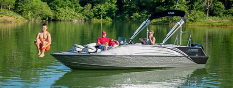 Best Fish And Ski Deck Boats by 2017 Sd224 Fishing Ski Aluminum Deck Boat Lowe Boats