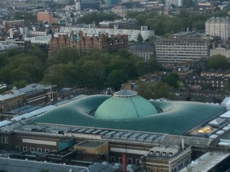 British Museum with Norman Foster glass roof - Picture of