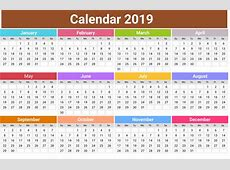 10 Best 2019 Calendar Designs Ideas Calendar 2019