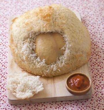cuisiner le riz poulet cuit en croûte de riz par jean françois piège les