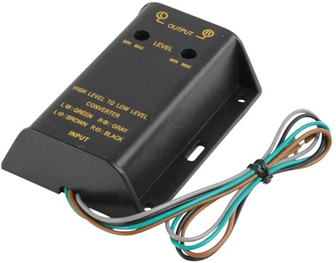 high low converter car ax03 hi low converter bei reichelt elektronik