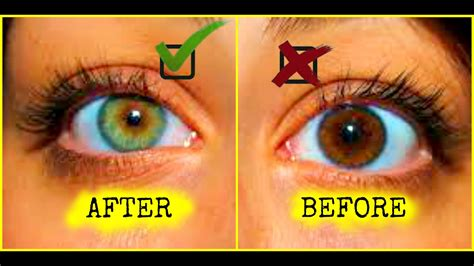 how to make your change color how to change your eye color how to get green 100
