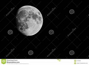 The Moon Seen From Earth Stock Photography - Image: 22739952