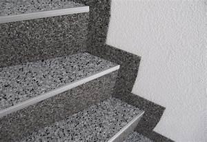 Treppenstufen Stein Außen Verlegen : steinteppich verlegebeispiele treppen ~ Orissabook.com Haus und Dekorationen